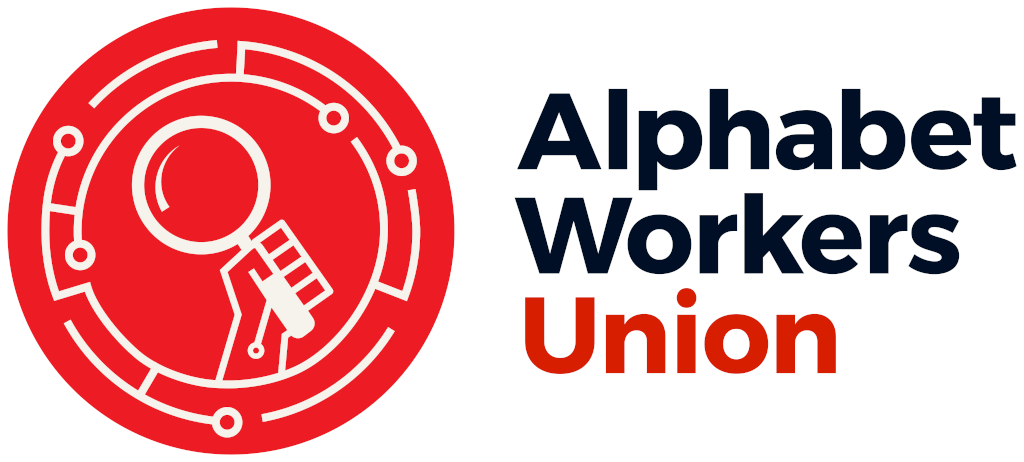 Alphabet Workers Union logo